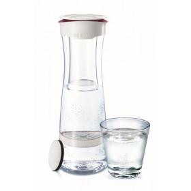 Karafka filtrująca Brita Fill&serve 1,3L biały/bordo