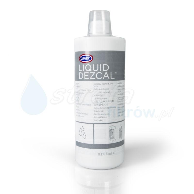 Urnex Liquid Dezcal - płyn do usuwania kamienia 1 litr