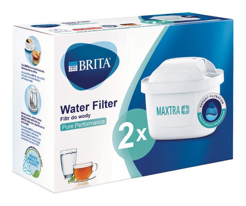 Filtr do wody Brita MAXTRA+ Pure Performance - 2 sztuki | Oryginalny filtr do dzbanków