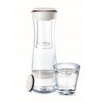 Karafka filtrująca Brita Fill&serve 1,3L biały/bordo | DARMOWA DOSTAWA