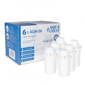 Filtr Brita Classic zamiennik Aqua Crest AQK-06 - 6 sztuk