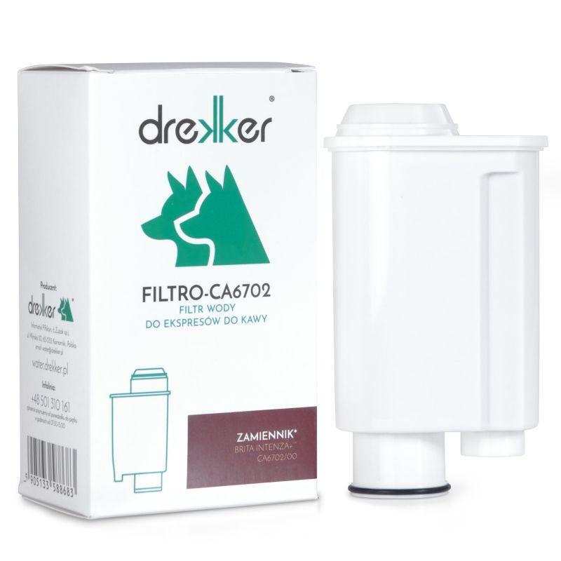 Drekker FILTRO-CA6702 - Filtr zamiennik do Brita Intenza+ CA 6702/00