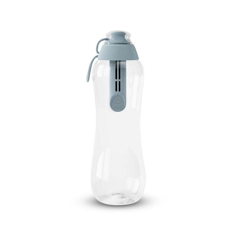 Butelka filtrująca Dafi 500ml stalowa (szara)