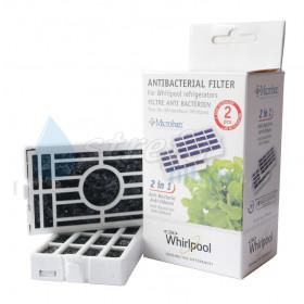 Whirlpool ANTF-MIC2, 480131000232 Filtr antybakteryjny - 2 sztuki
