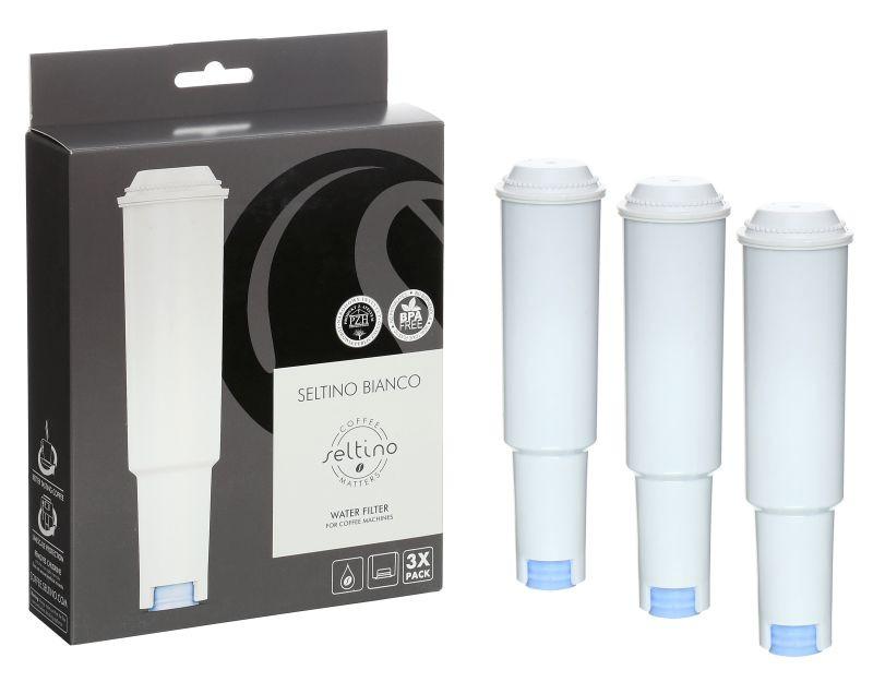 3 x Filtr Jura Claris White 60209 68739 60335 - tańszy odpowiednik   Seltino Bianco 3-PAK
