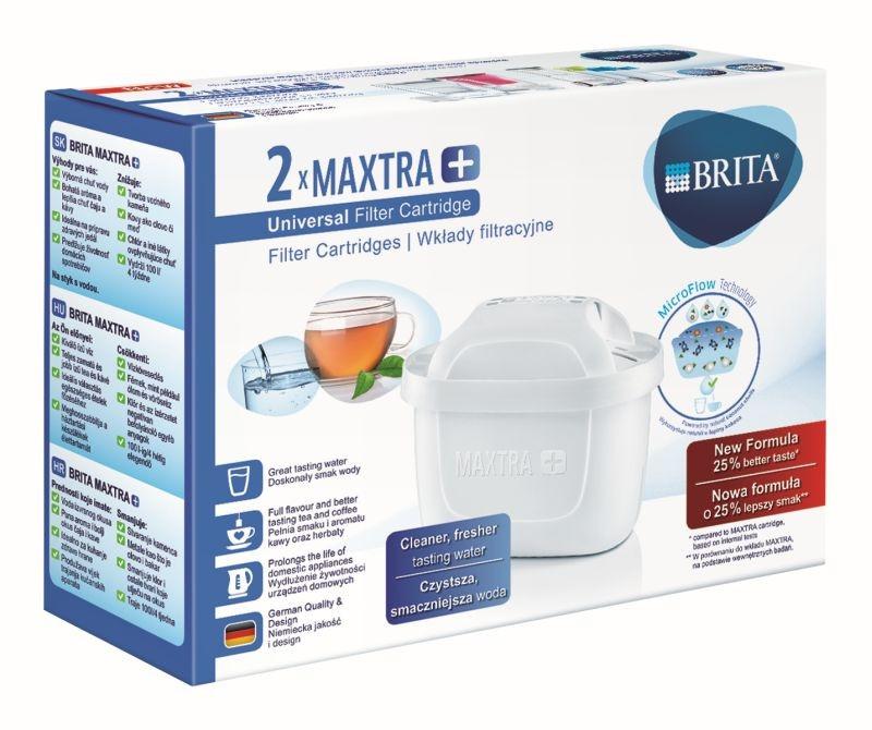 Brita Maxtra+ 2 sztuki - Oryginalny filtr do dzbanków