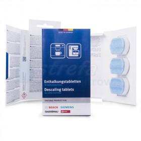 Bosch TCZ8002 00311819 576693 Tabletki odkamieniające 2w1 do ekspresów