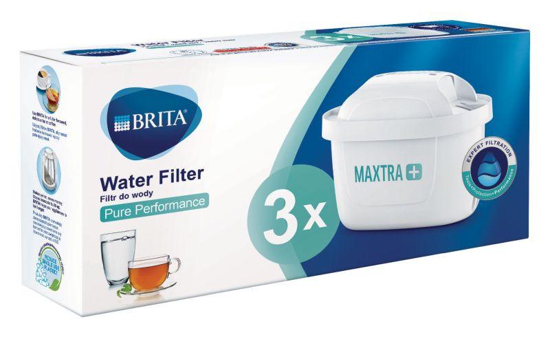 Filtr do wody Brita MAXTRA+ Pure Performance - 3 sztuki | Oryginalny filtr do dzbanków