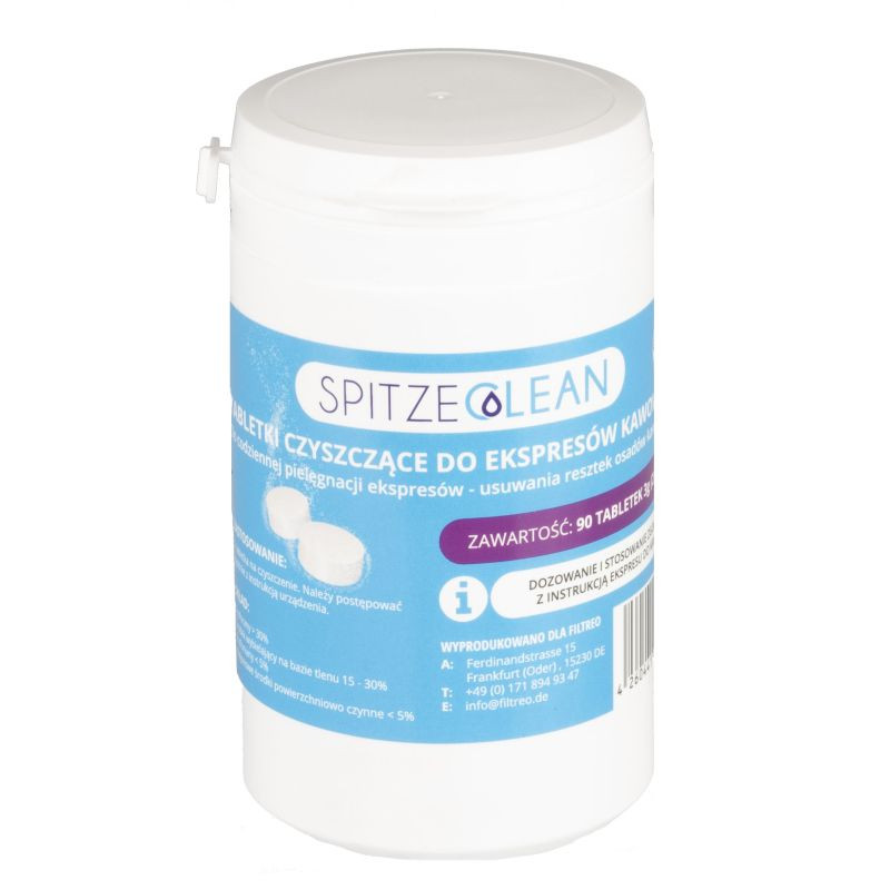 Spitze Clean - tabletki czyszczące do ekspresów 90 sztuk (90 x 3g)