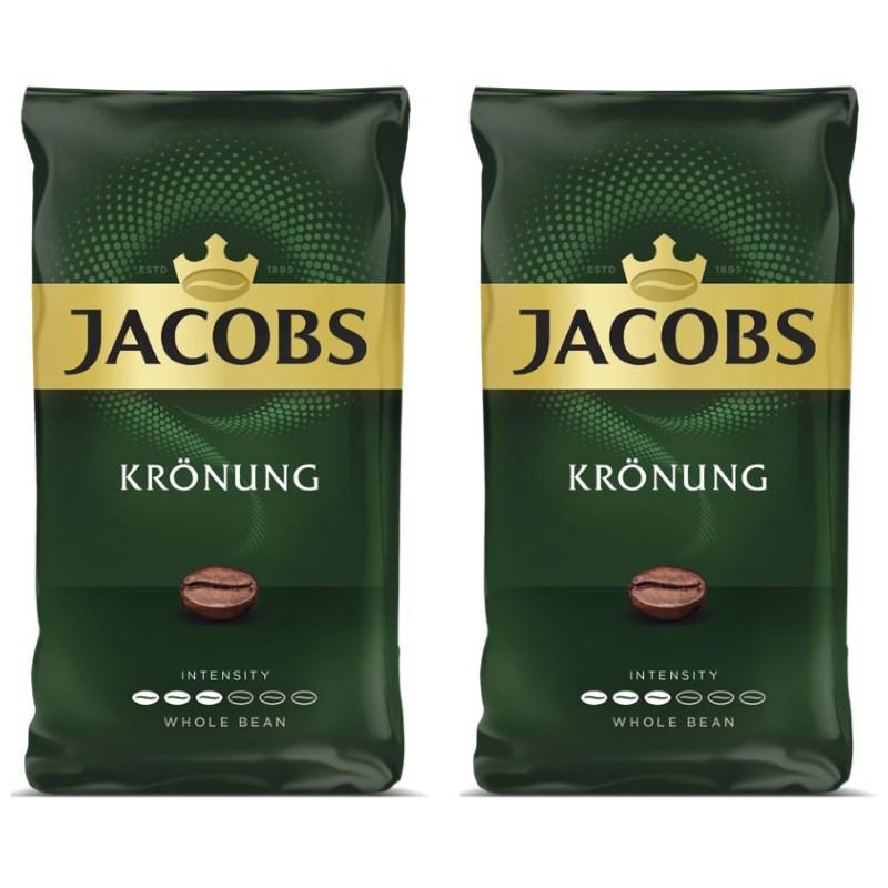 Jacobs Kronung - kawa ziarnista - 1kg (2 x 500g)