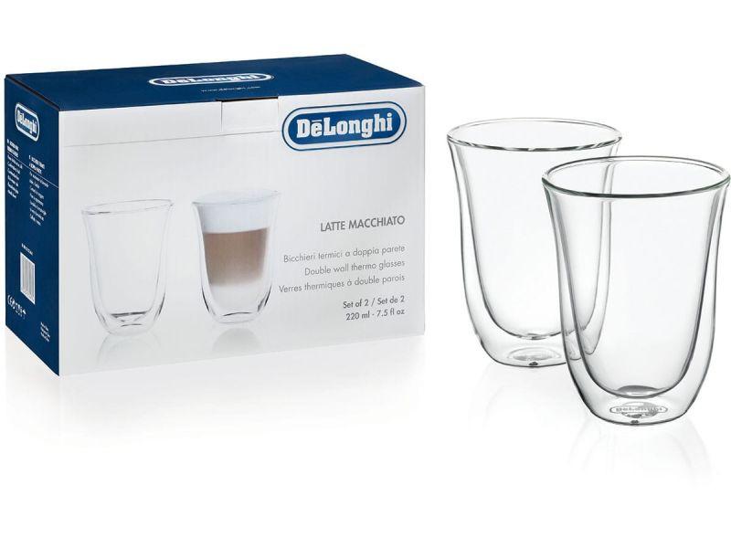 DeLonghi szklanki termiczne do latte macchiato 2 sztuki 5513214611
